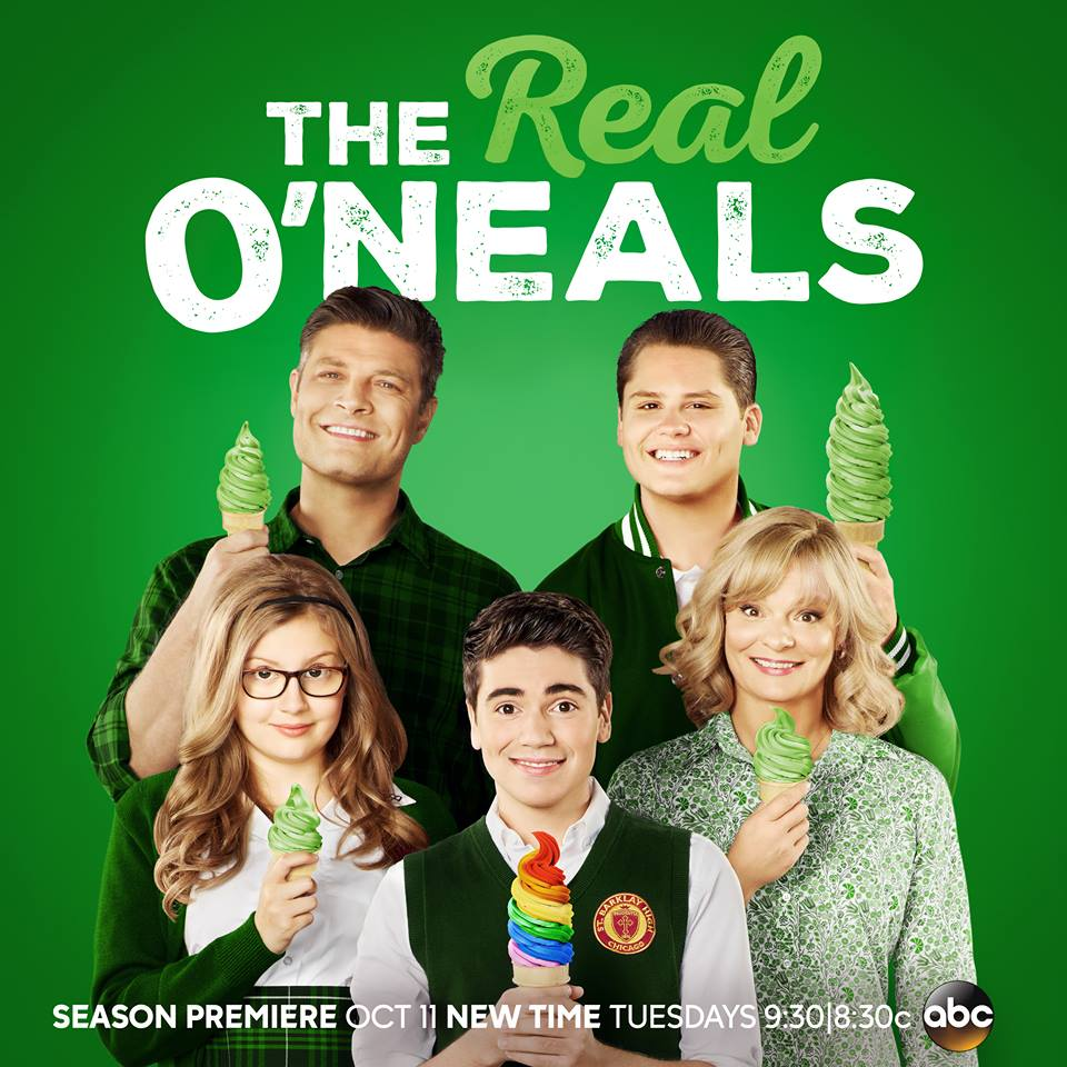 'The Real O'Neals' Behind-The-Scenes Set Visit