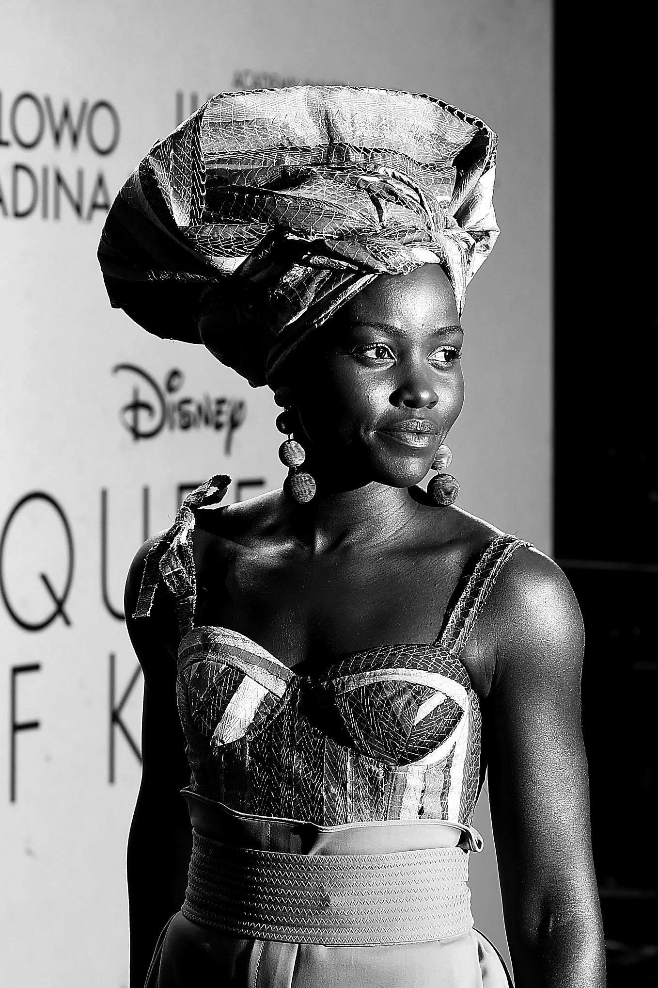 Wardrobe Breakdown: Lupita Nyong'o 'Queen Of Katwe' London Premiere