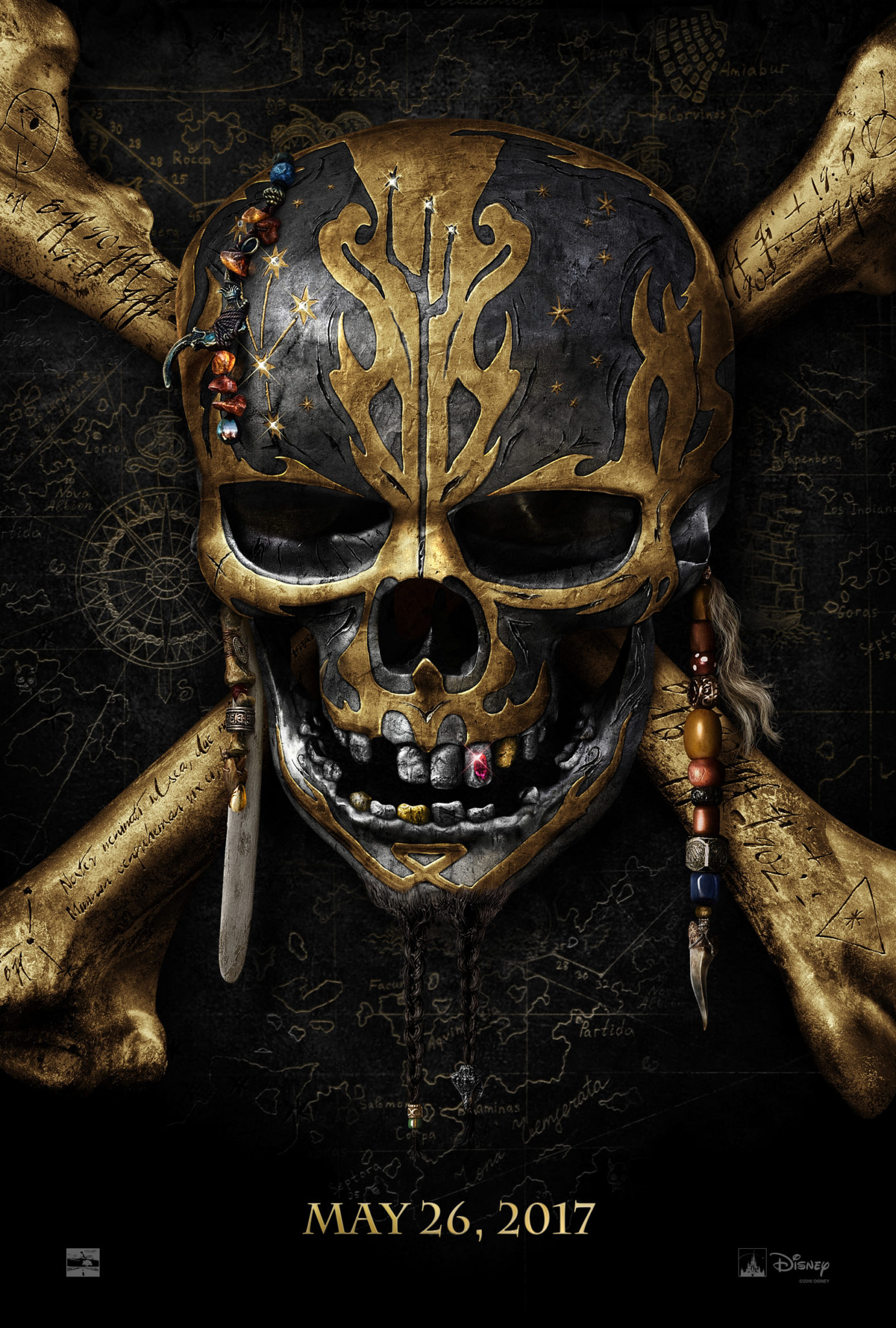 Teaser Trailer: 'Pirates Of The Caribbean Dead Men Tell No Tales'