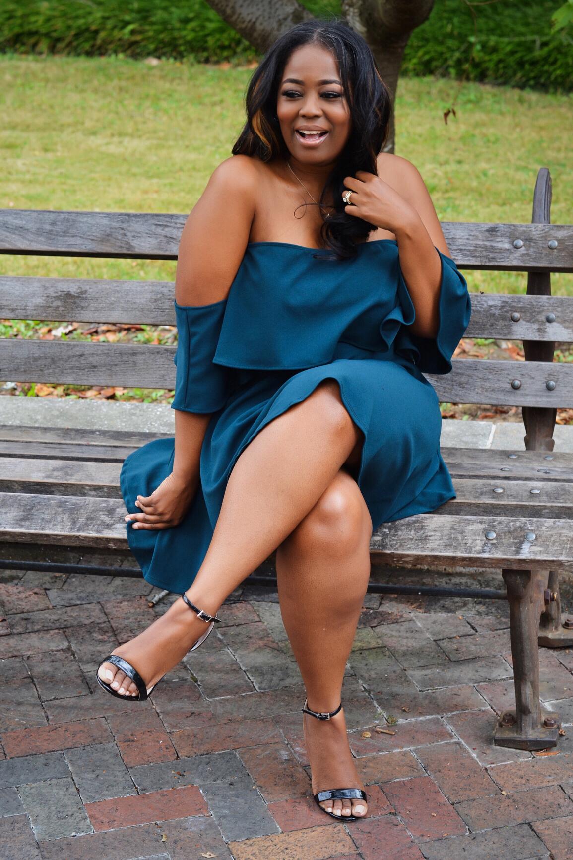 My Style: Bardot Frill Shift Dress