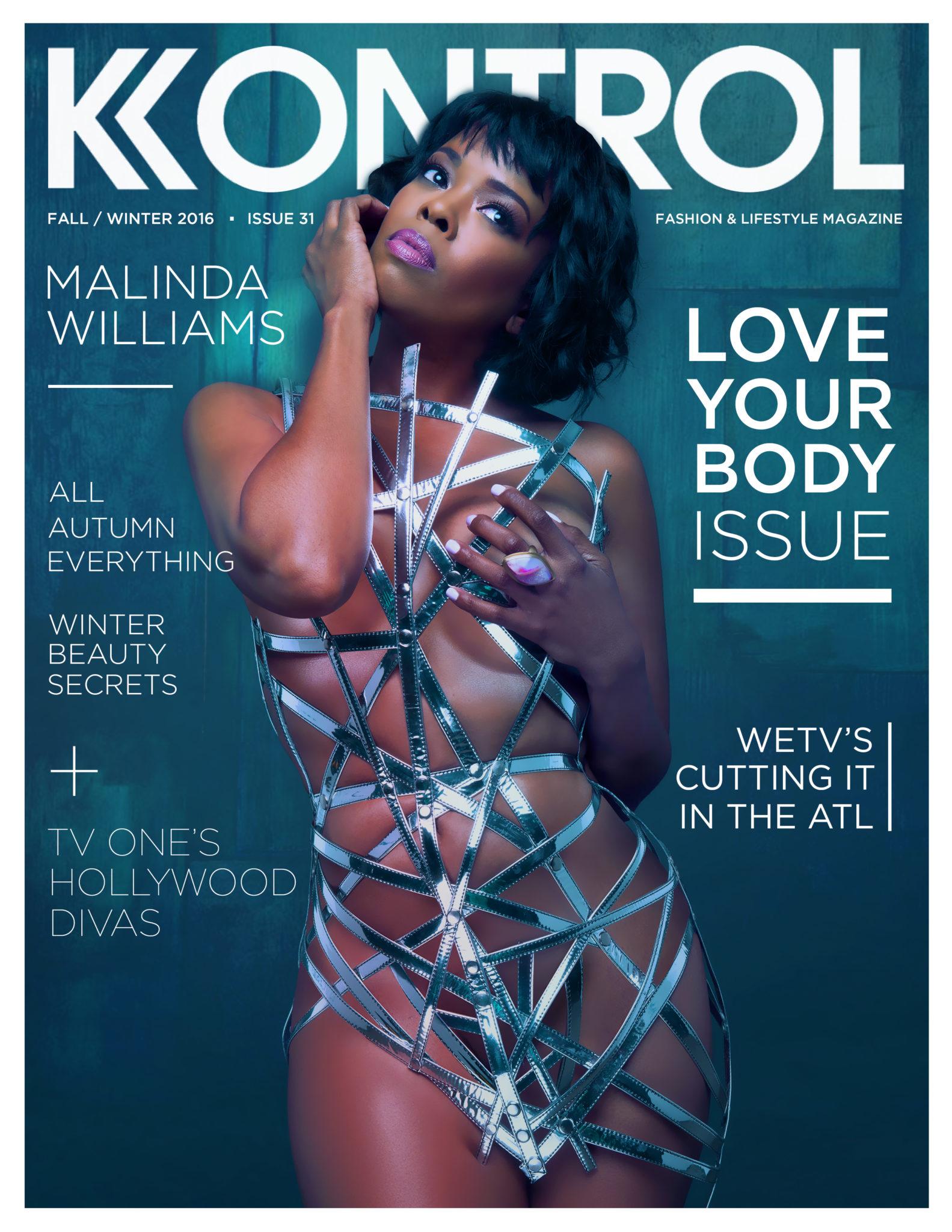 Wardrobe Breakdown: Malinda Williams For 'Kontrol' Magazine
