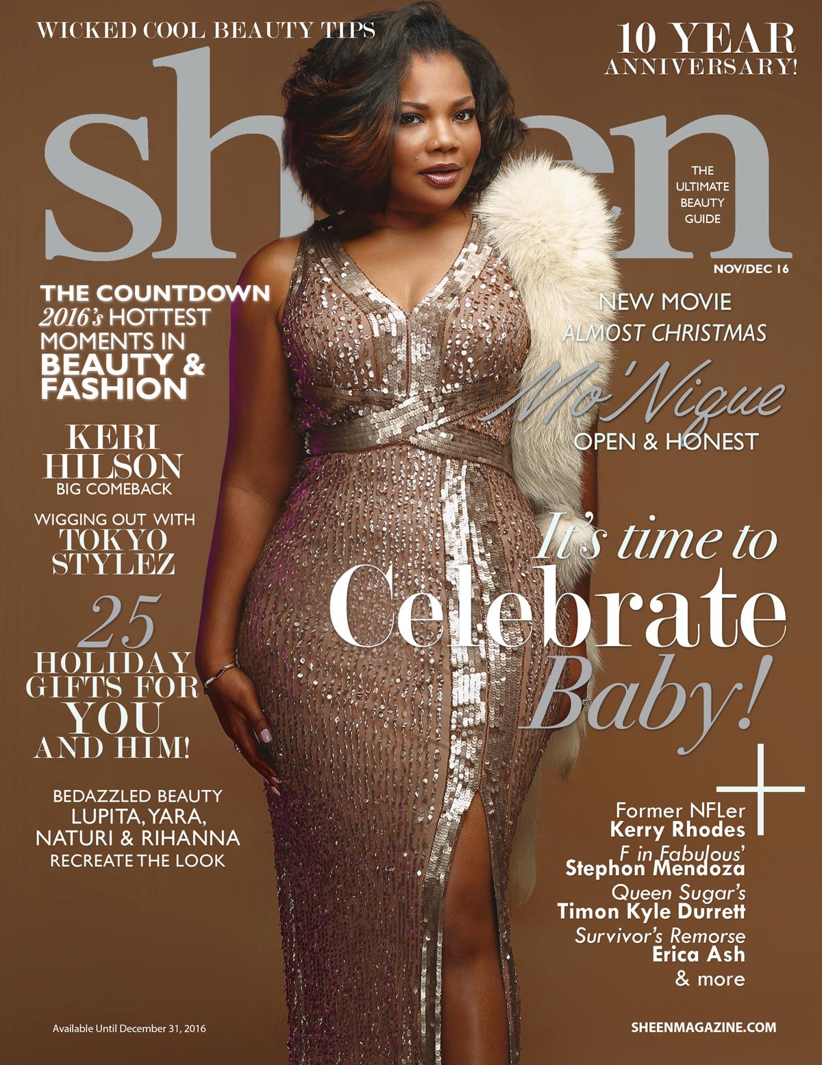 Mo'Nique For 'Sheen' Magazine