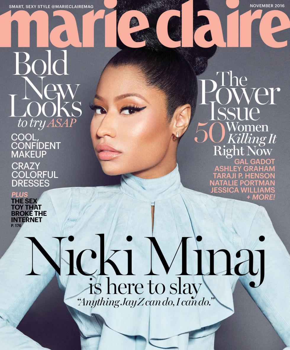 Wardrobe Breakdown: Nicki Minaj For 'Marie Claire'
