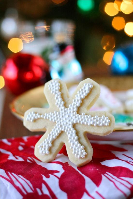 Recipe: Vanilla Bean Christmas Sugar Cookies