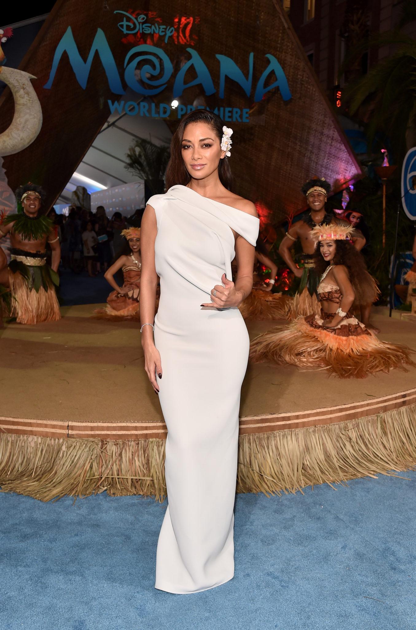 Wardrobe Breakdown: Nicole Scherzinger At Disney's Moana Premiere