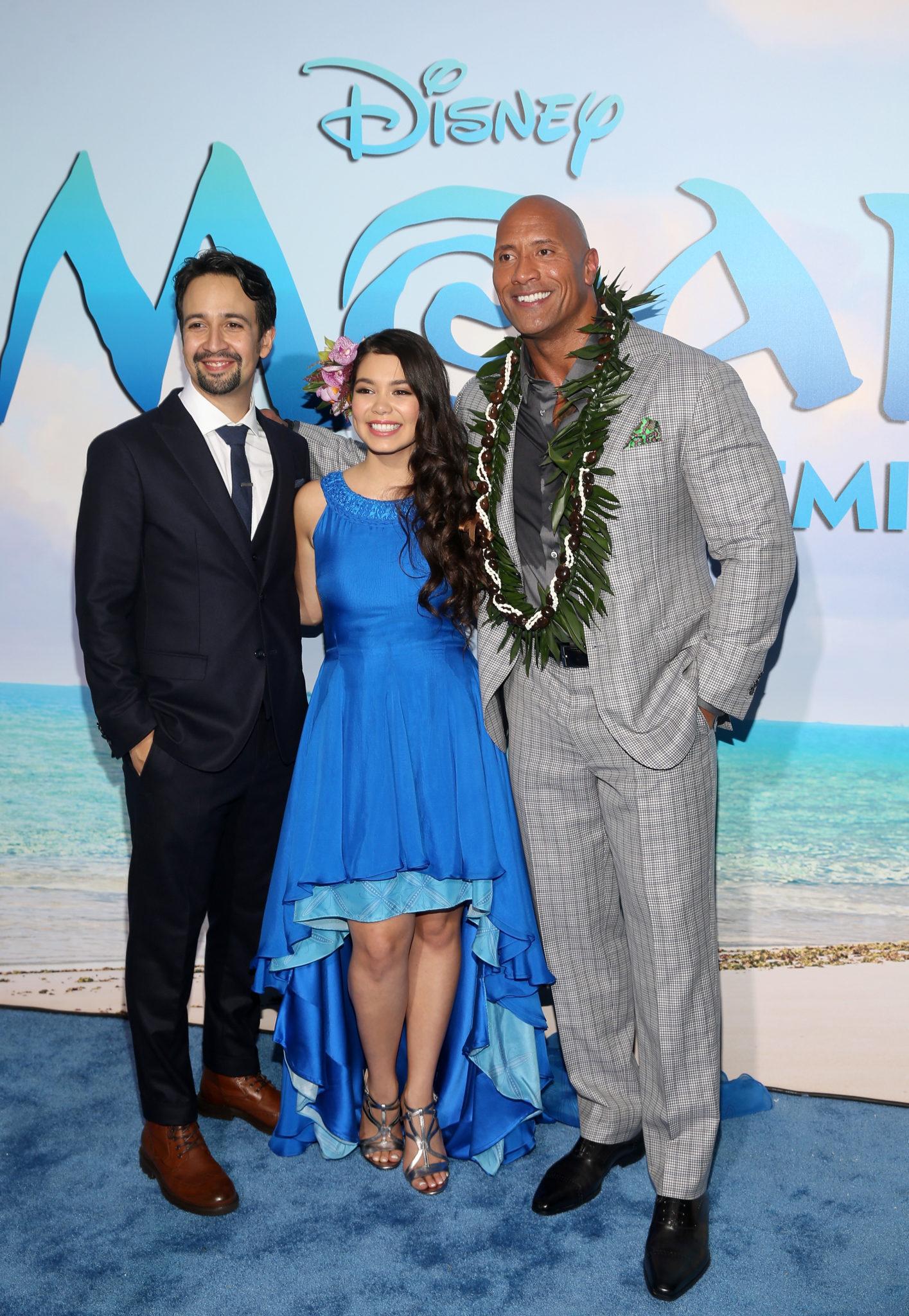 Disney's 'Moana' Hollywood Premiere