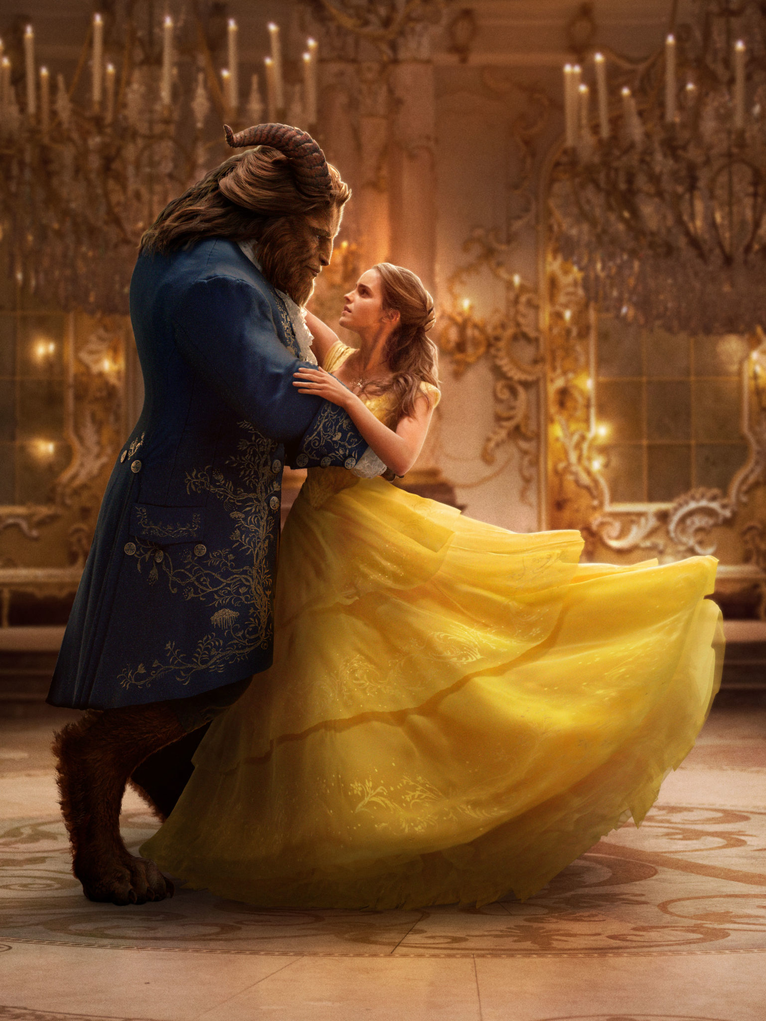 Brand New Images Of The Upcoming Film 'Beauty And The Beast'