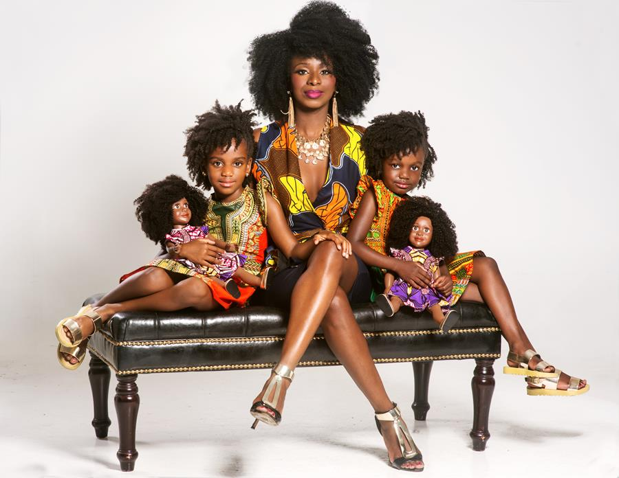 """WEtv's Cutting It In the ATL Mushiya Introduces """"My Natural Doll"""""""