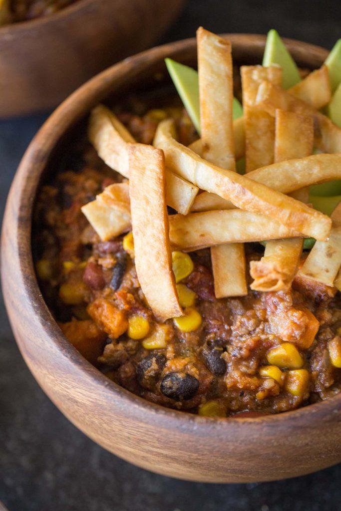 Recipe: Sweet Potato Chili