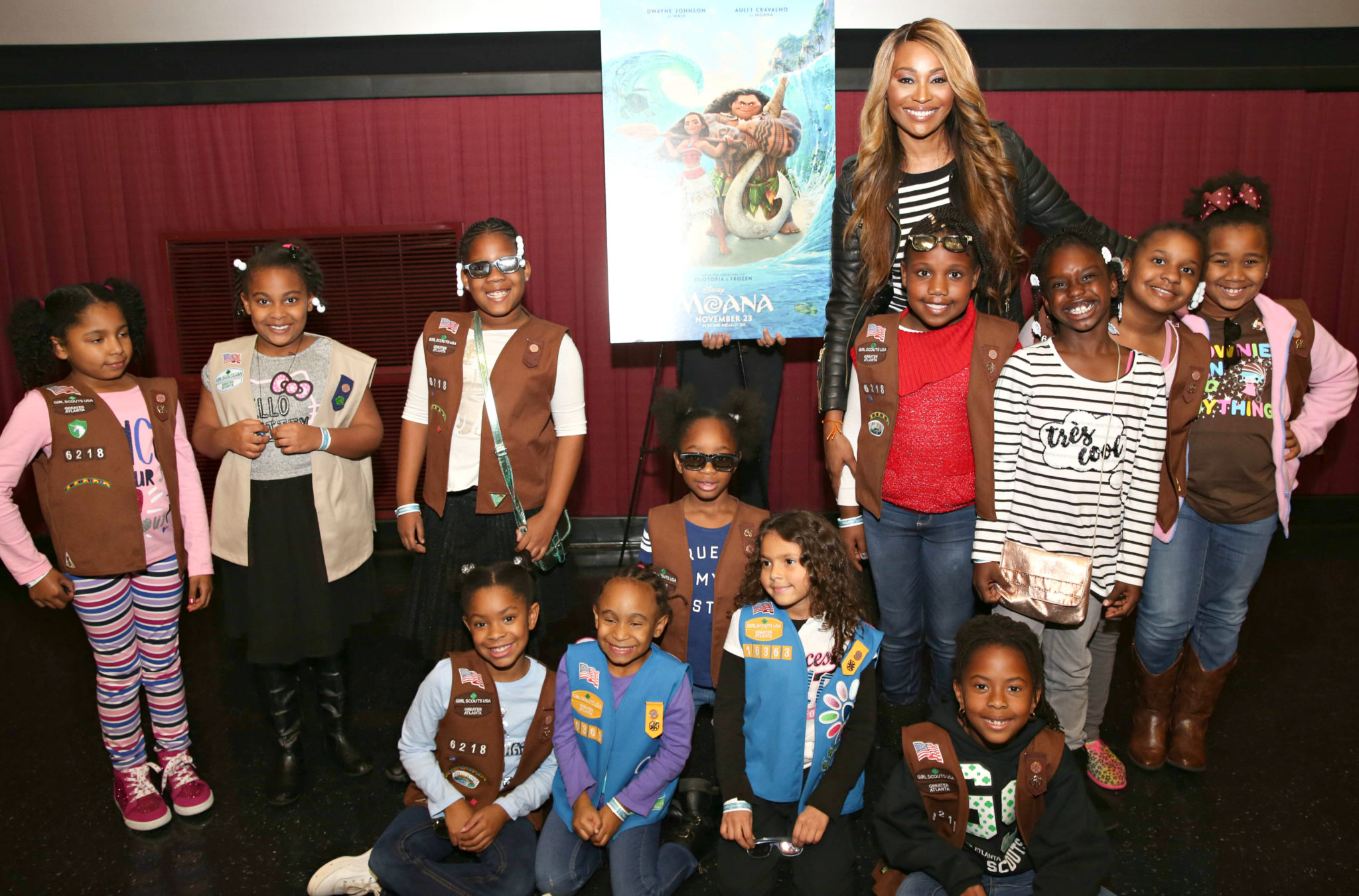 'MOANA' Private Screening In Atlanta Hosted By Cynthia Bailey