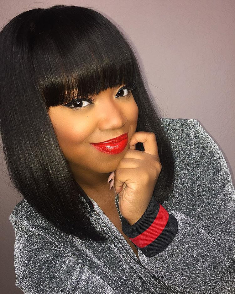 Get The Look: U Love Megz Shows You How To Rock A Bob Wig