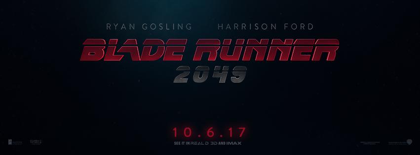 New Movie: Blade Runner 2049