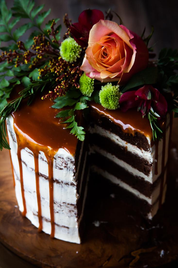 Recipe: Chocolate Brownie Rosemary Cake