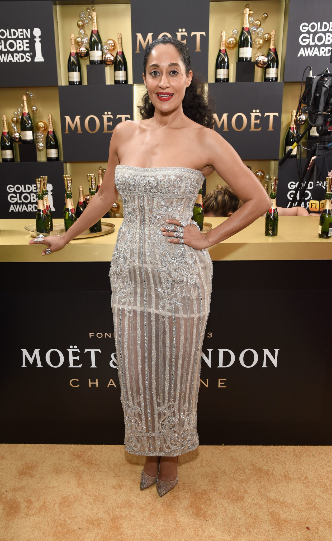 Wardrobe Breakdown: Tracee Ellis Ross At The Golden Globe Awards