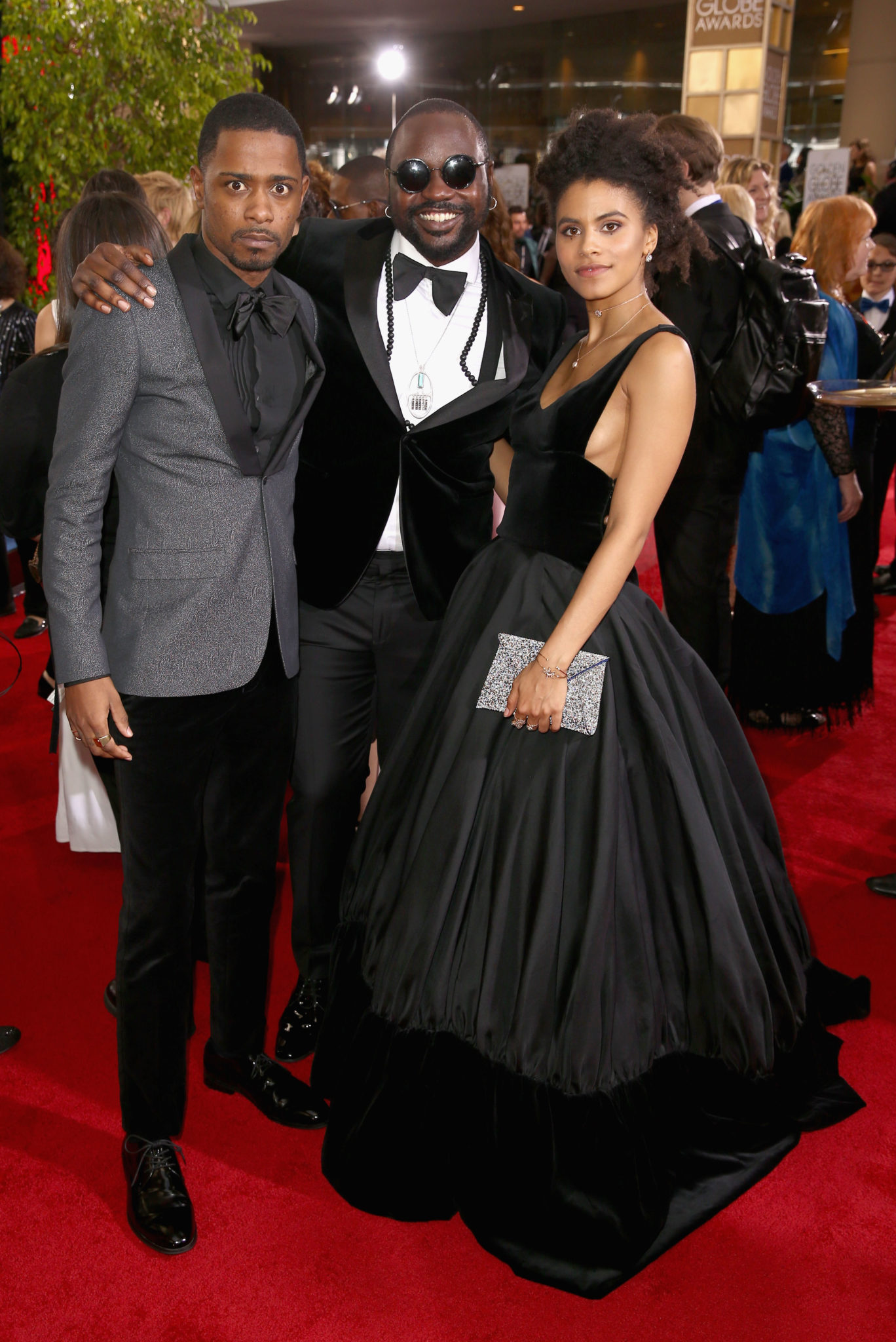 Red Carpet Looks From The 74th Annual Golden Globes