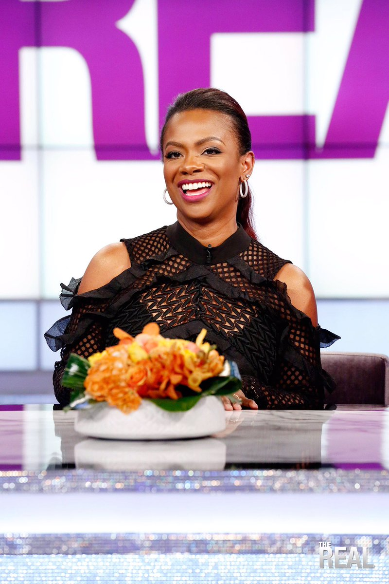 In Case You Missed It: Kandi Burruss Stops By The Real