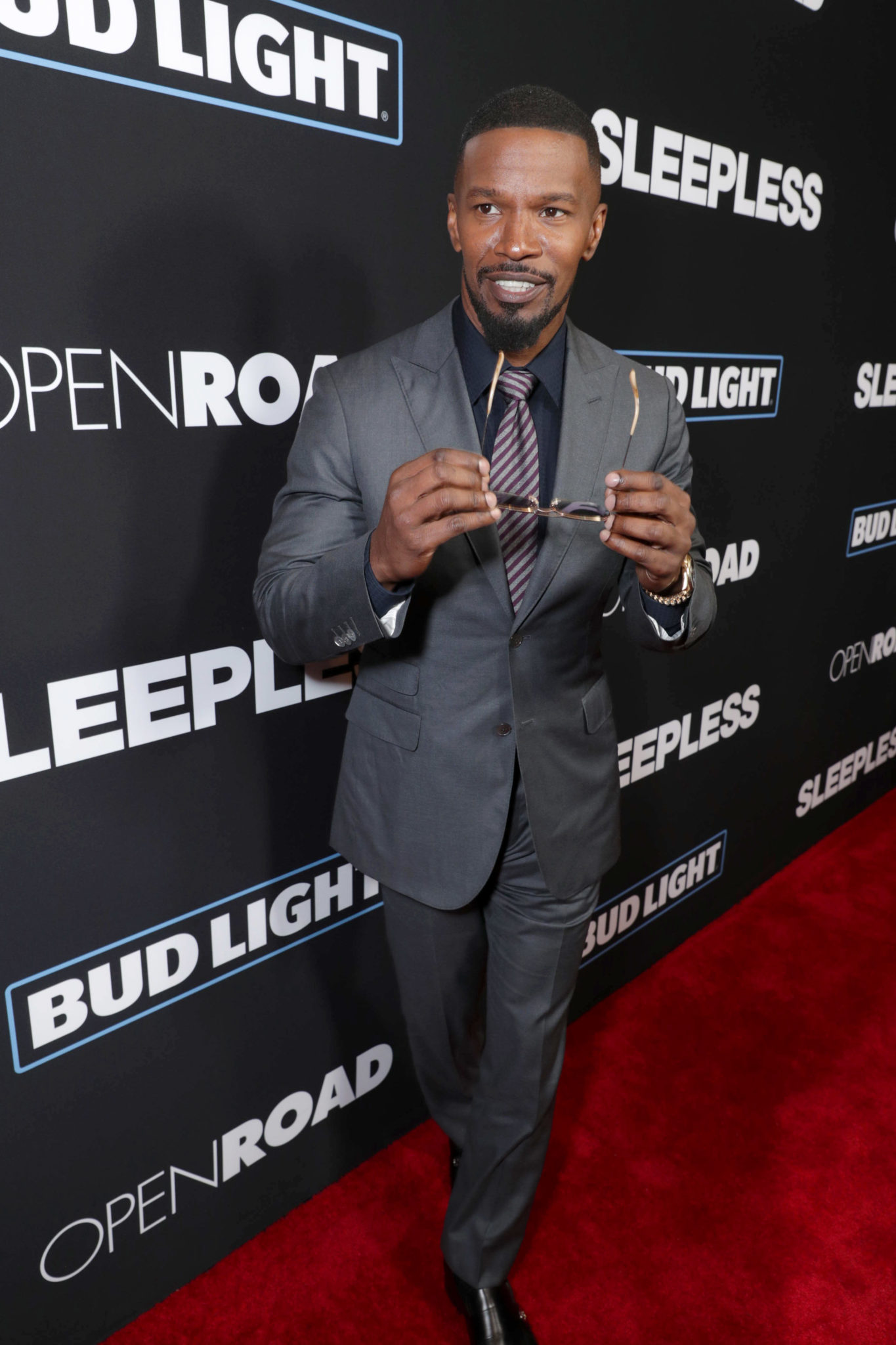 Sleepless Red Carpet Premiere In Hollywood