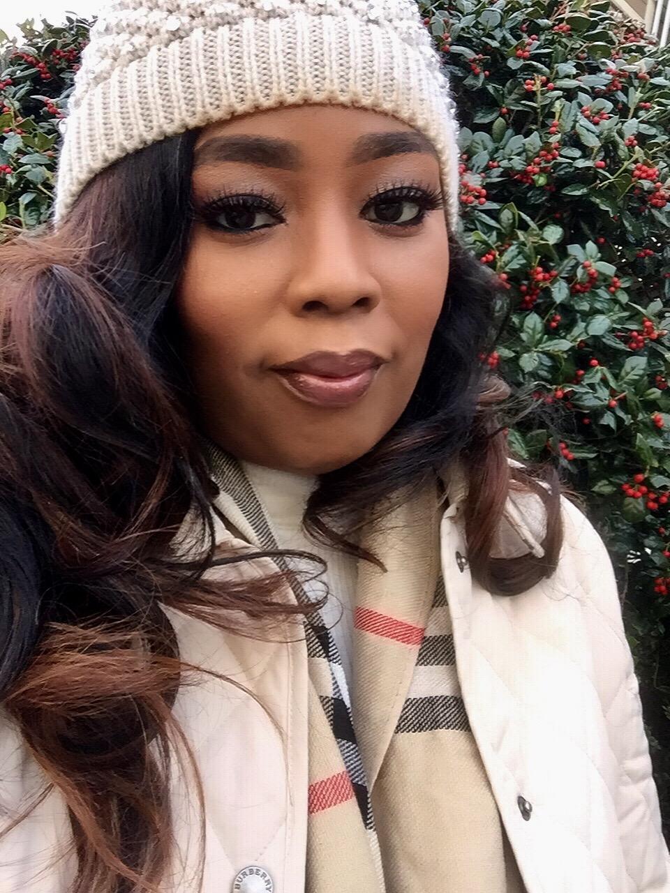 My Style: Burberry Jacket & Snow Beanie