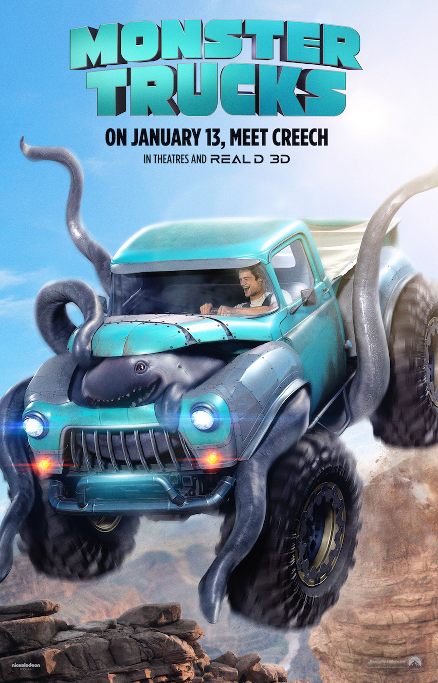 New Movie: Monster Trucks