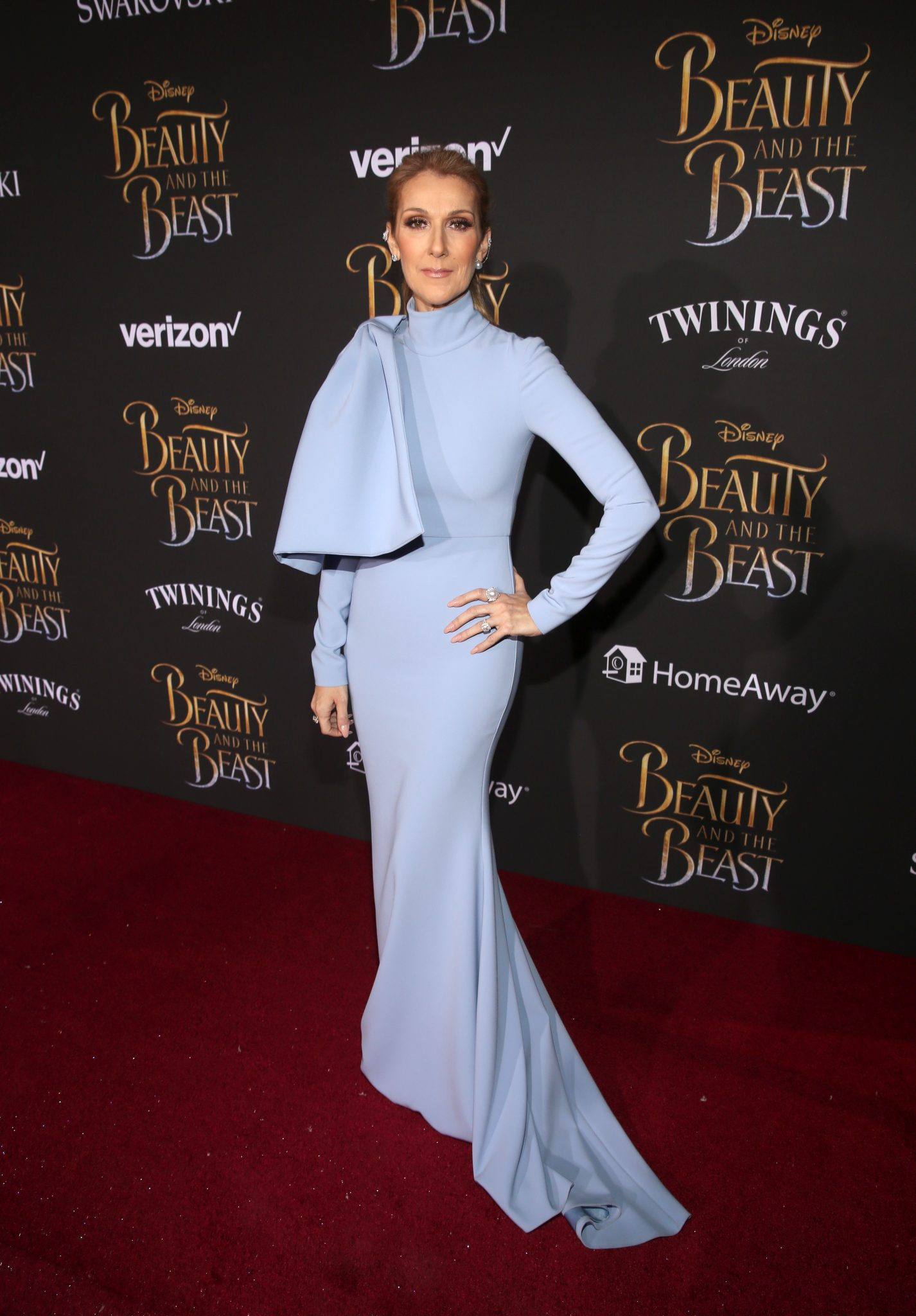 Wardrobe Breakdown: Celine Dion At The Beauty And The Beast World Premiere