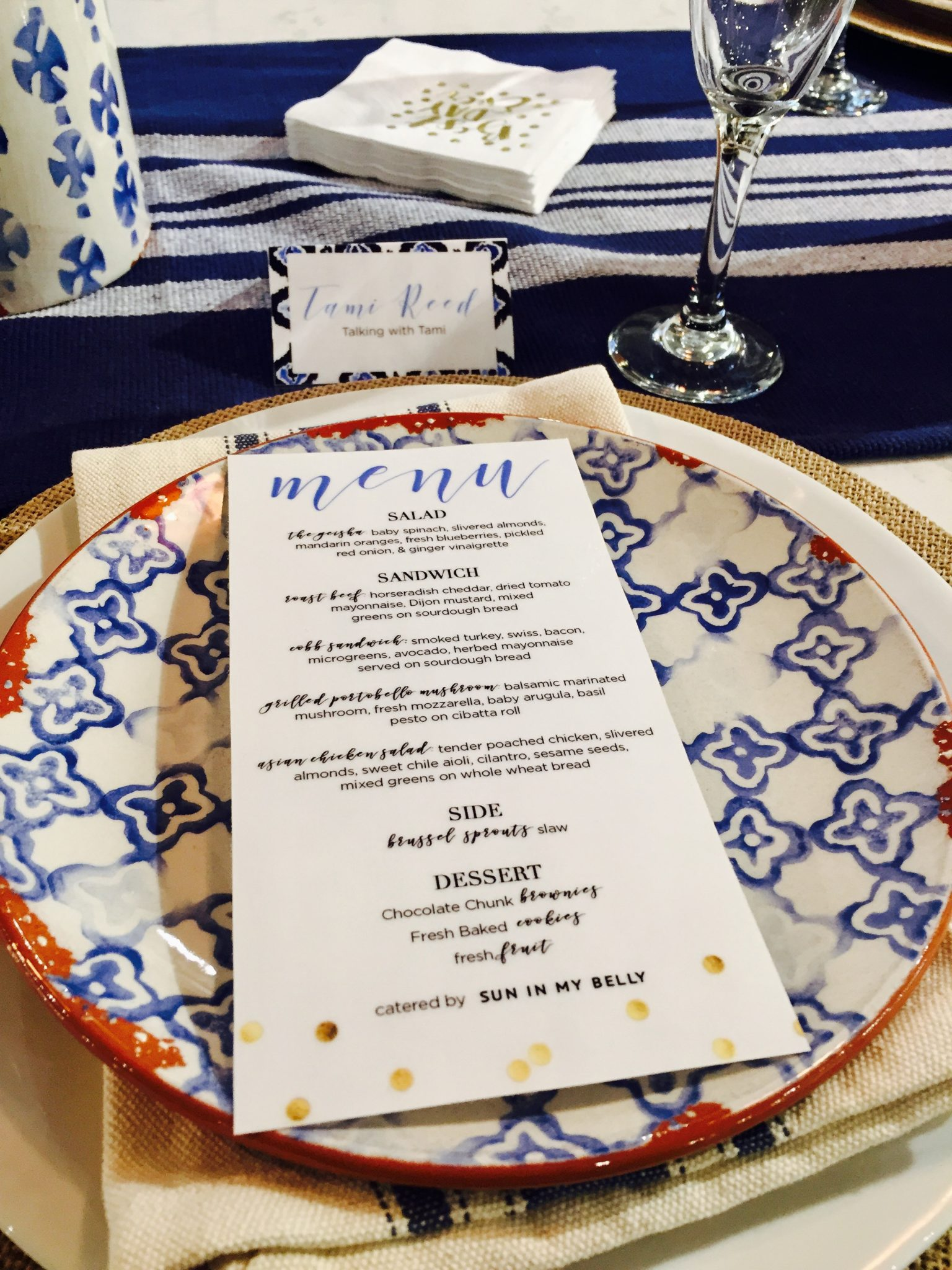 Exclusive Blogger Luncheon With Mud Pie