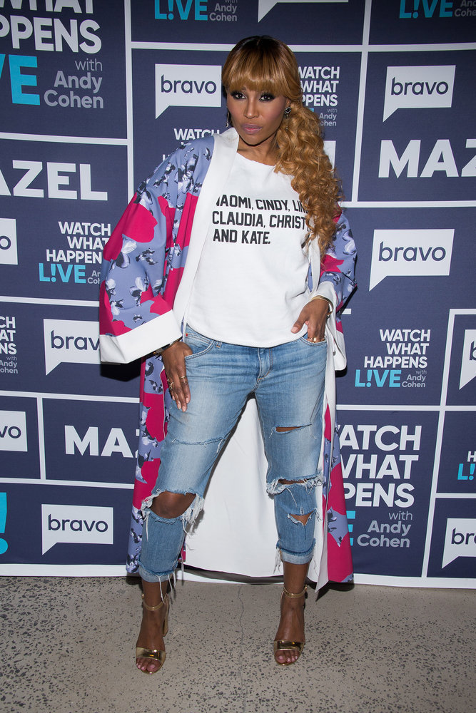 In Case You Missed It: Cynthia Bailey On Watch What Happens Live