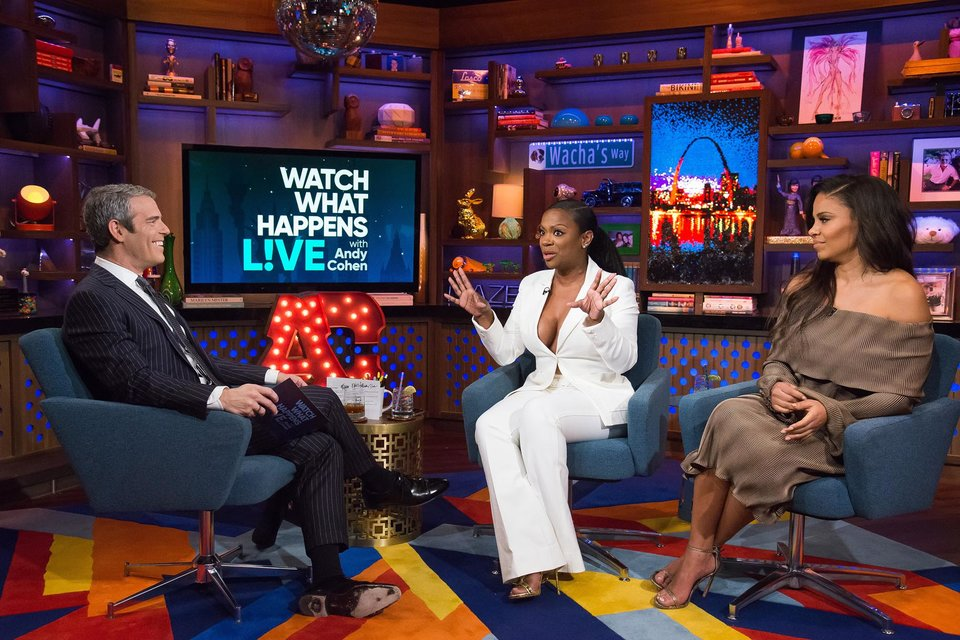 In Case You Missed It: Kandi Burruss & Sanaa Lathan On Watch What Happens Live