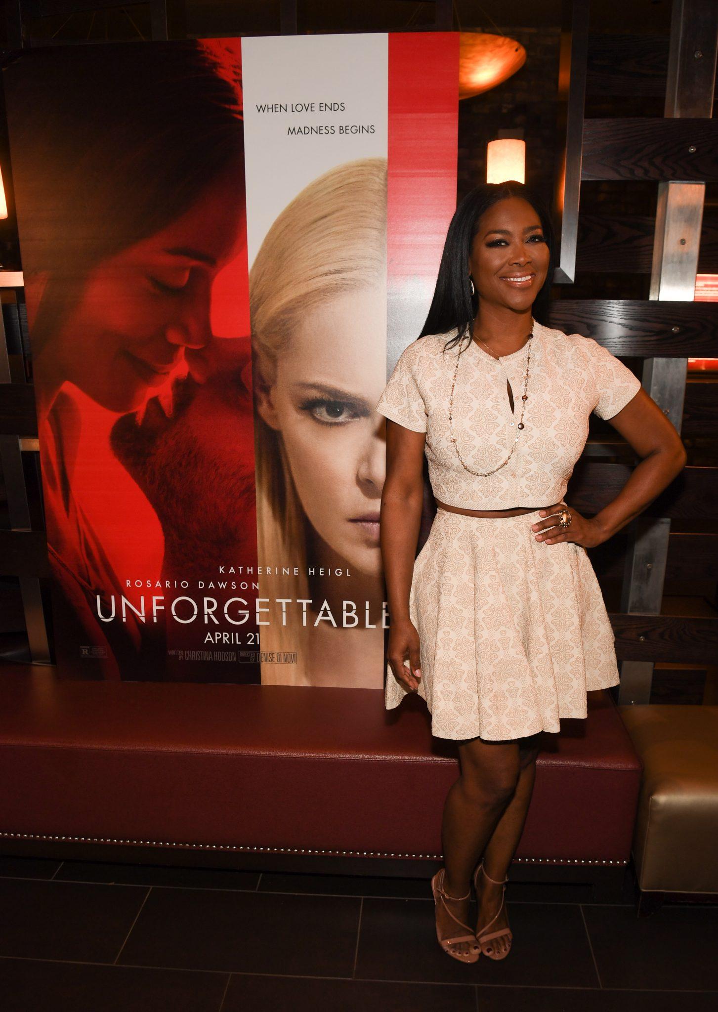 Kenya Moore Hosts Private Screening Of Unforgettable