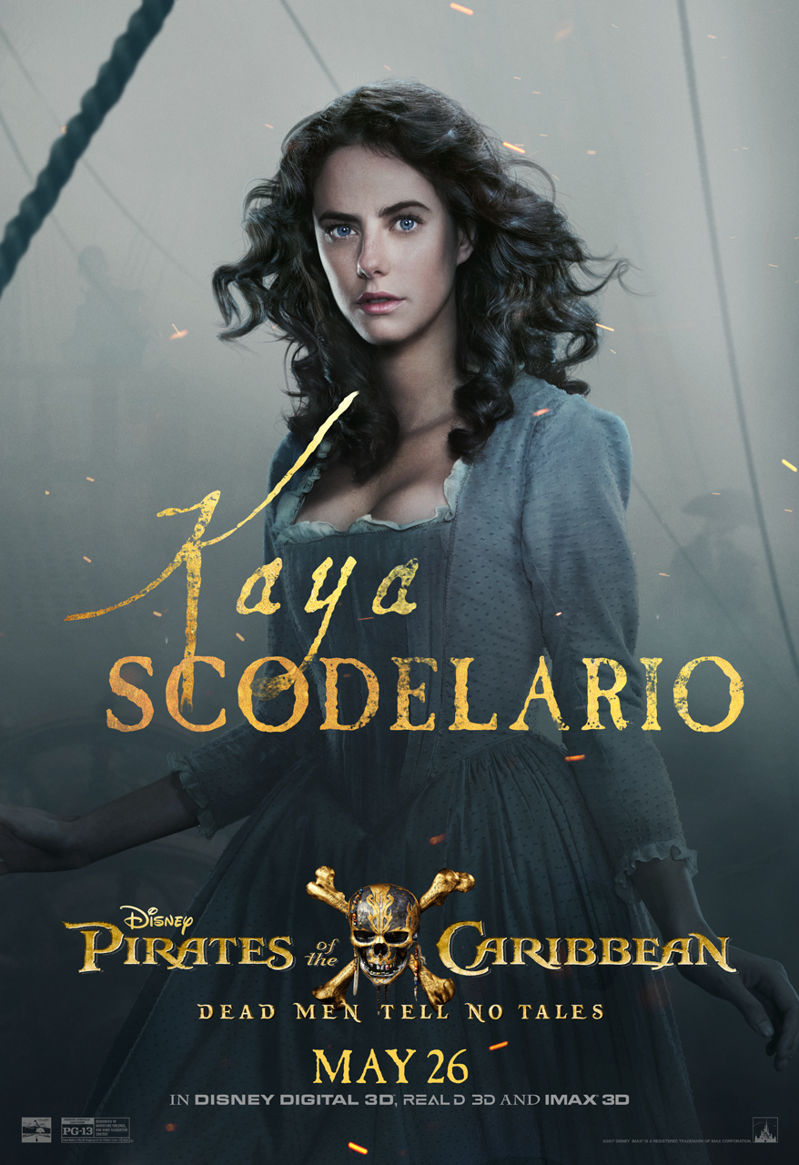 One On One With Kaya Scodelario (Carina Smyth) Pirates Of The Caribbean Dead Men Tell No Tales