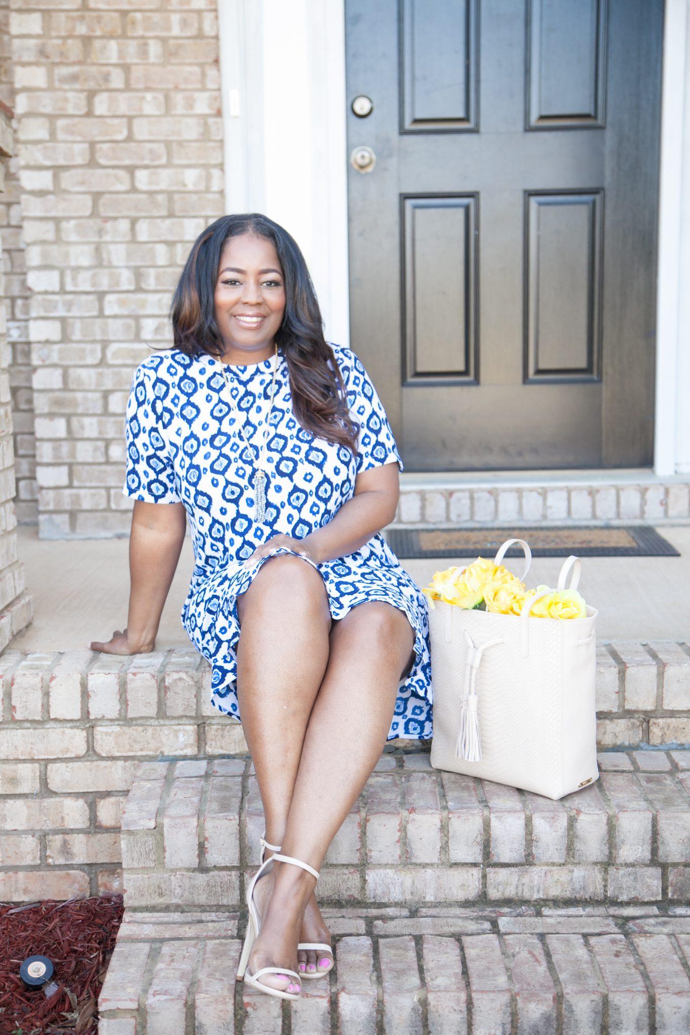 My Style: Mud Pie Farrah Flounce Dress