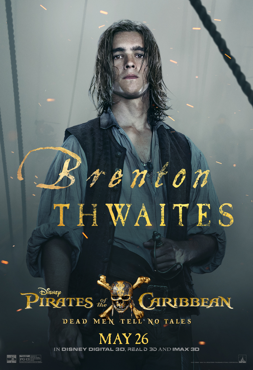 One On One With Brenton Thwaites (Henry Turner) Pirates Of The Caribbean Dead Men Tell No Tales