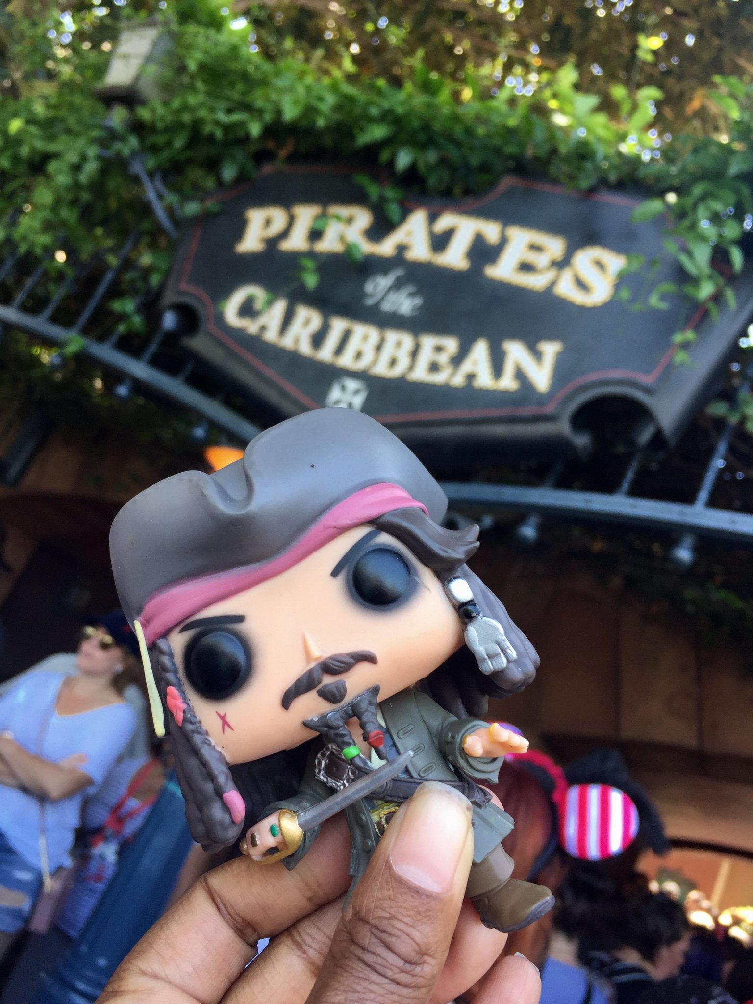 """My Disneyland """"Pirates of the Caribbean"""" Ride Experience"""