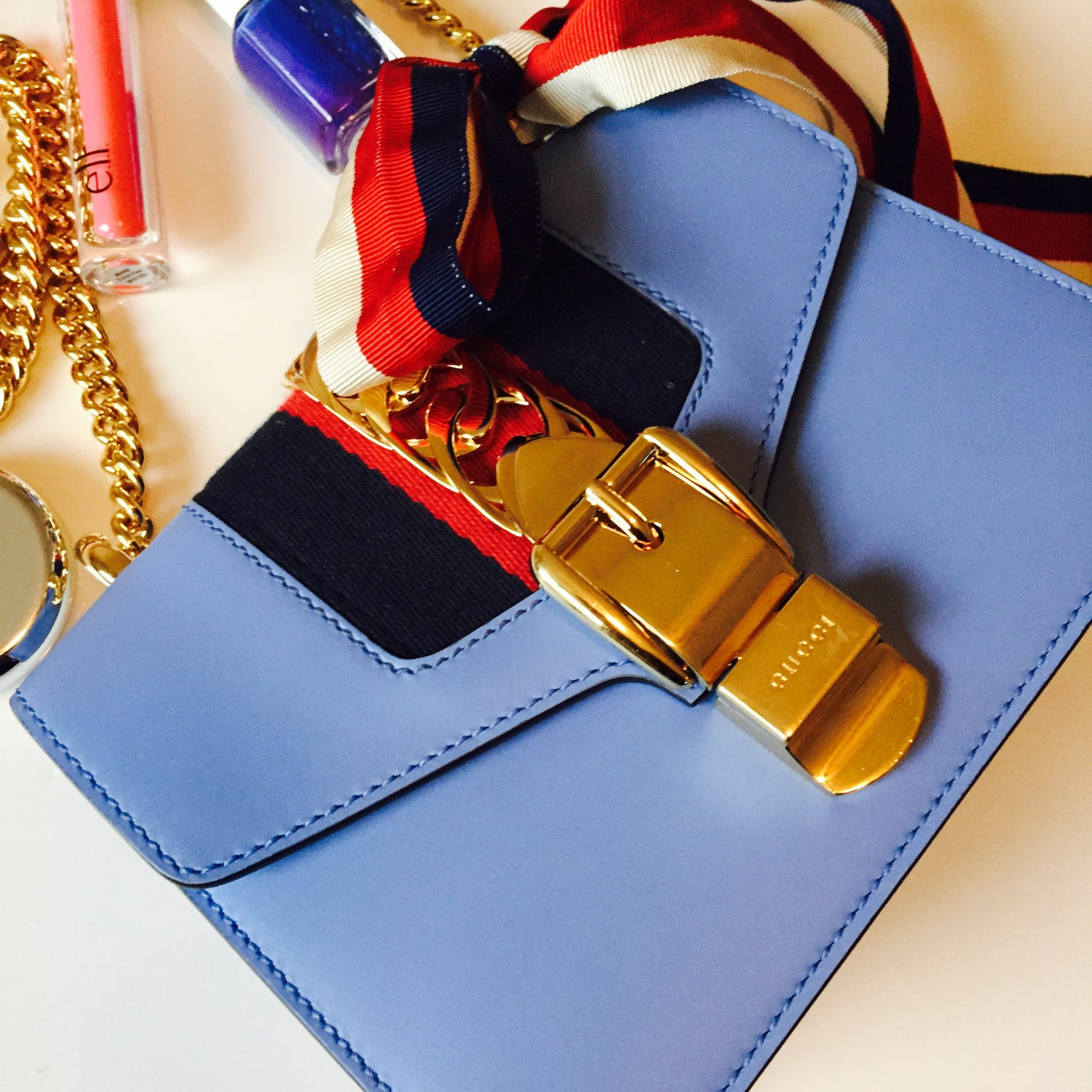 What's In My Bag: Gucci Sylvie Leather Mini Bag