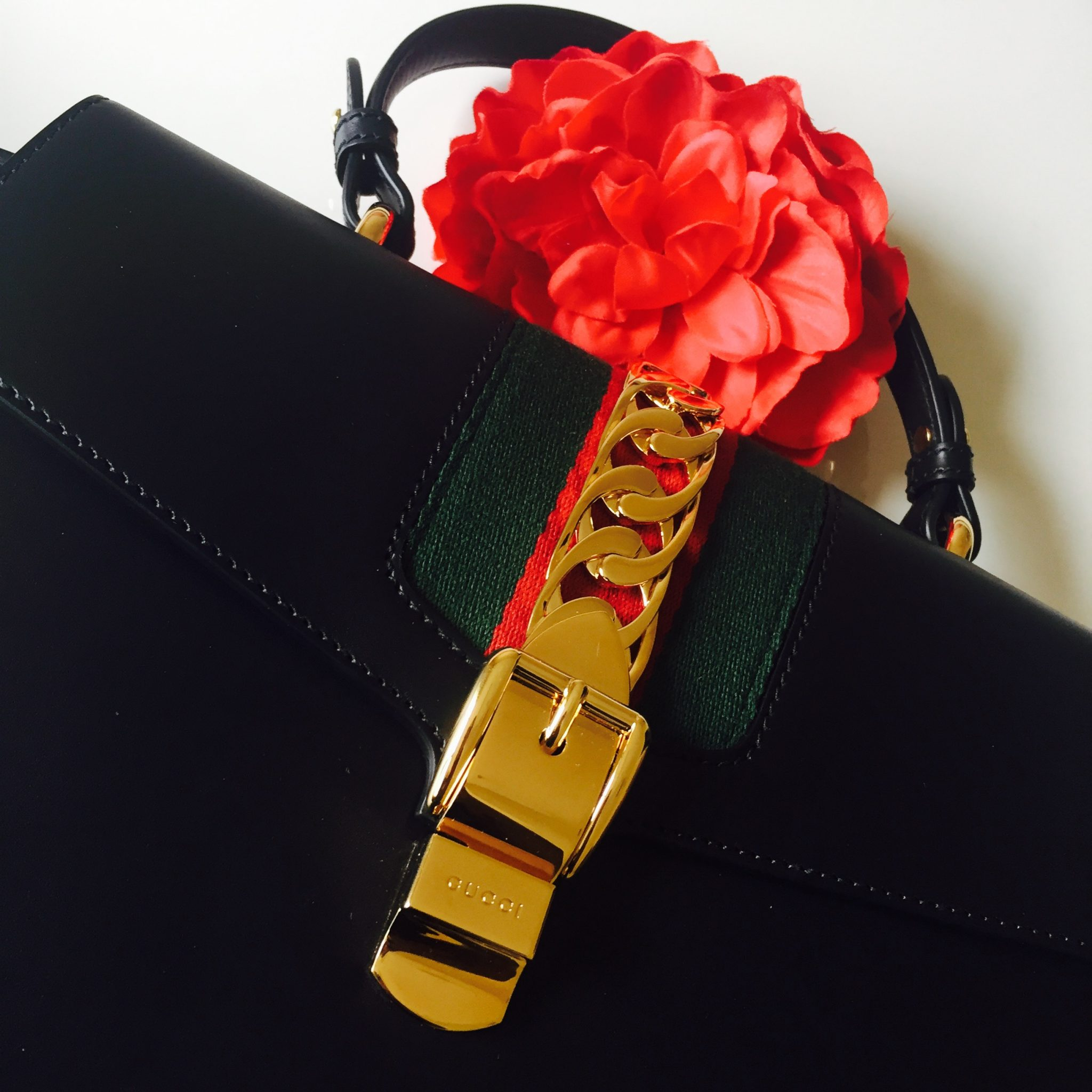 Currently Obsessed With: Gucci Sylvie Leather Maxi Top Handle Bag