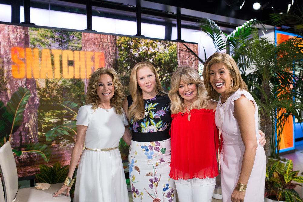 In Case You Missed It: Goldie Hawn And Amy Schumer On The Today Show