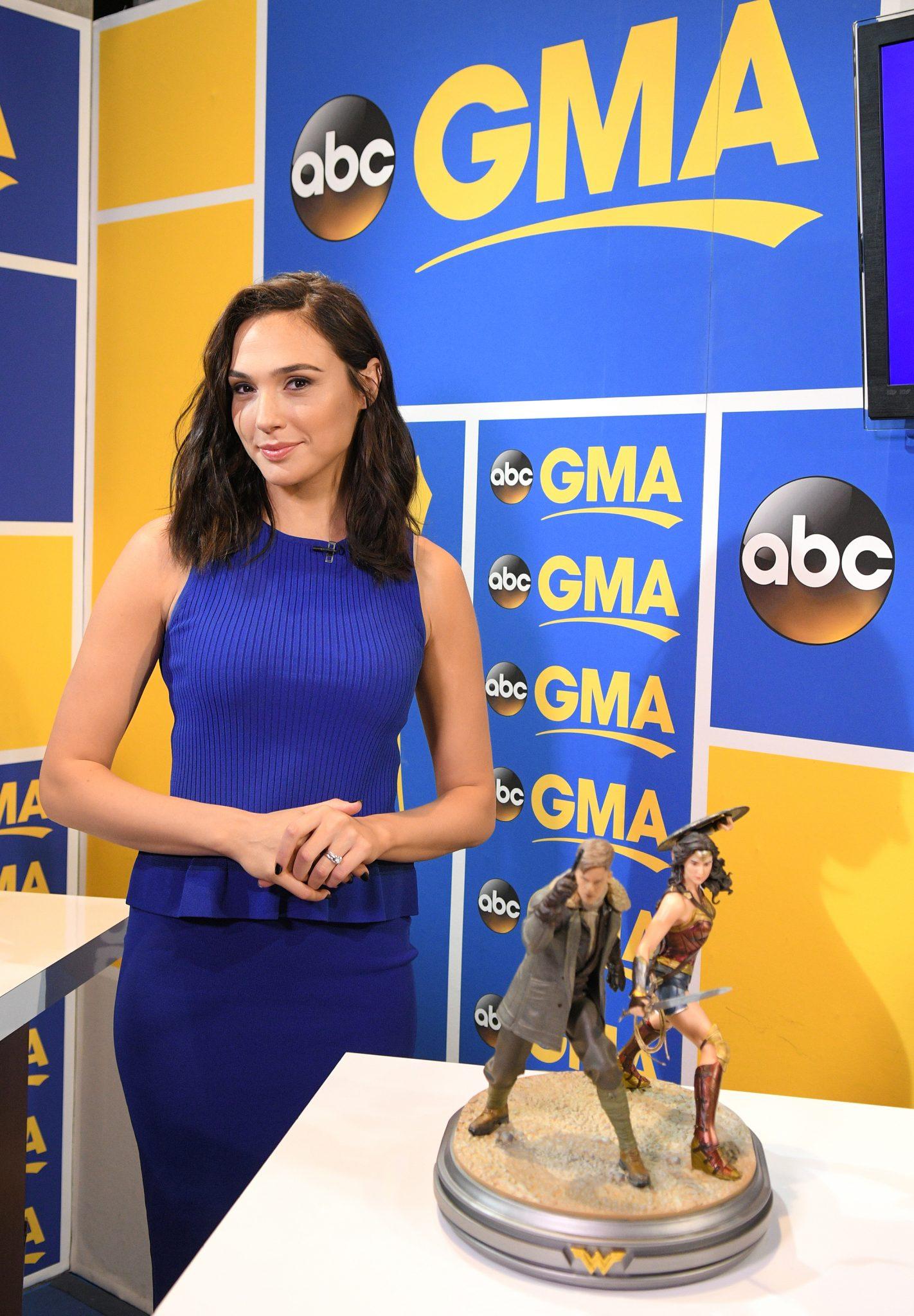 Gal Gadot And Cast Of Wonder Woman Visit Good Morning America