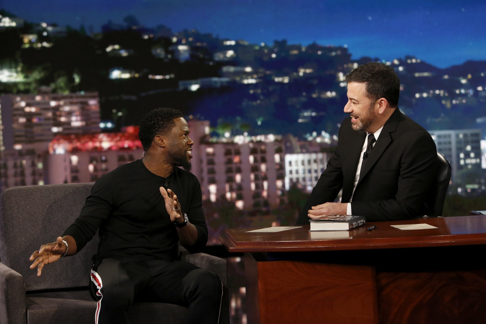 In Case You Missed It: Kevin Hart On Jimmy Kimmel Live