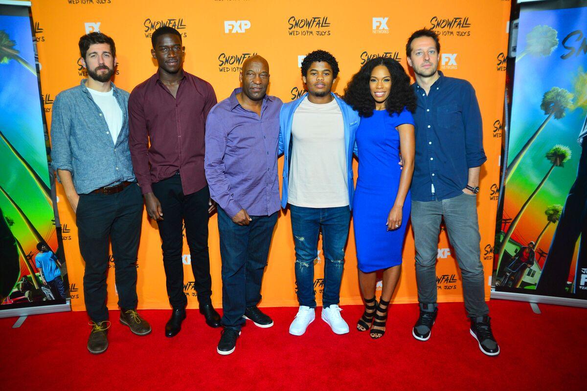 "FX Screens ""Snowfall"" in Atlanta w/ John Singleton And Cast"