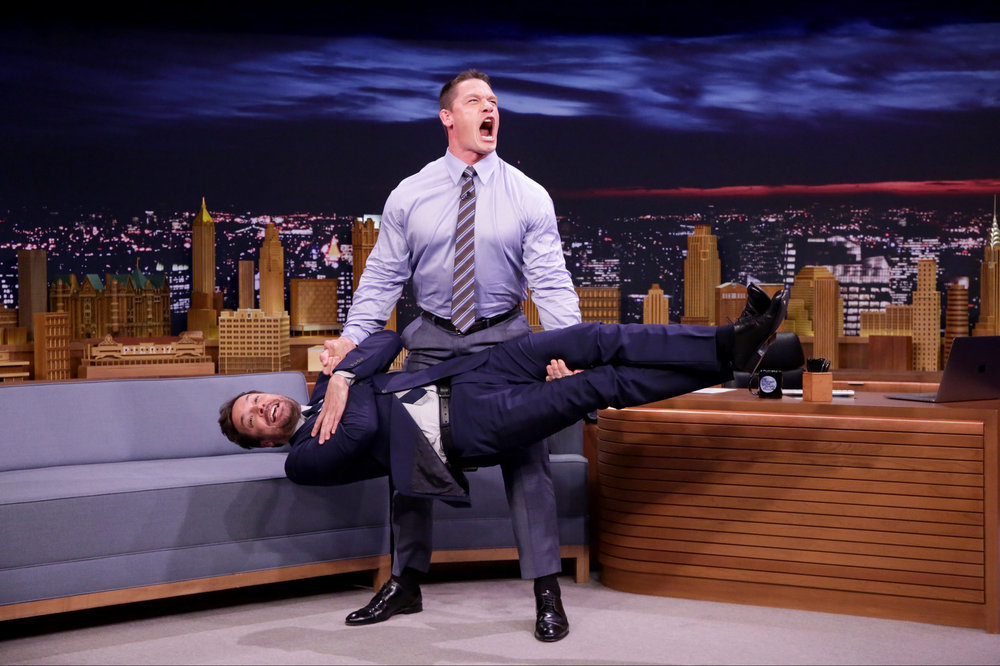 In Case You Missed It: John Cena On The Tonight Show Starring Jimmy Fallon