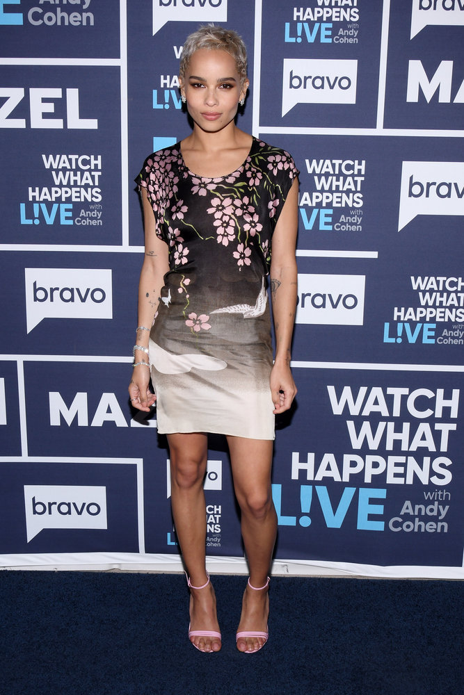 In Case You Missed It: Zoe Kravitz On Watch What Happens Live