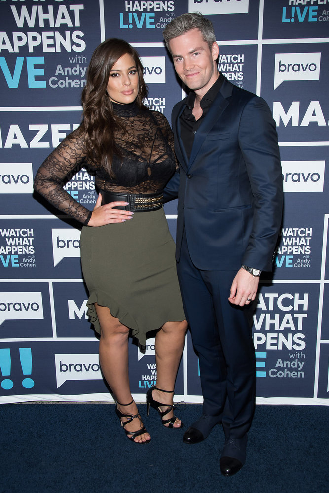 In Case You Missed It: Ashley Graham & Ryan Serhant On Watch What Happens Live
