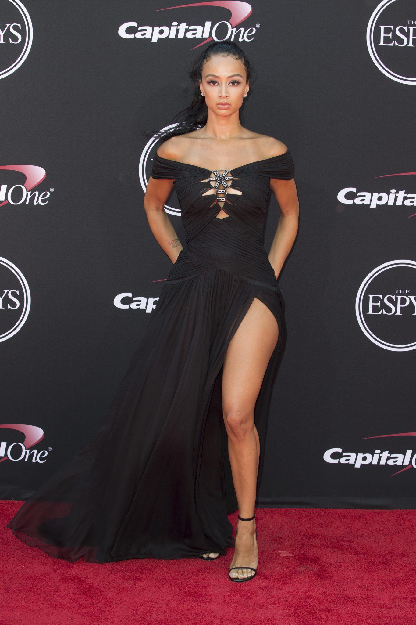 Wardrobe Breakdown: Draya Michele At 25th Annual ESPYS