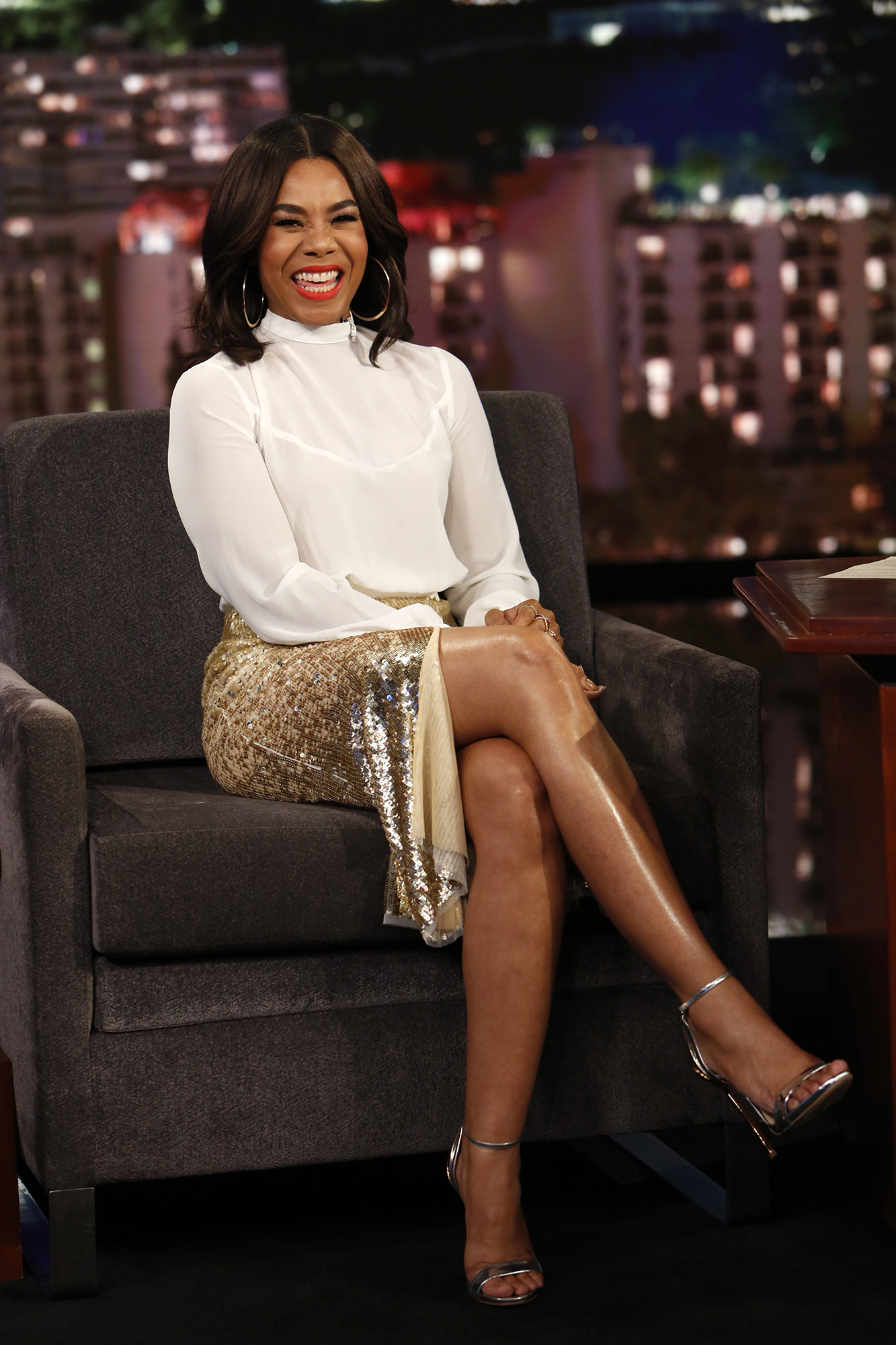 In Case You Missed It: Regina Hall On Jimmy Kimmel Live