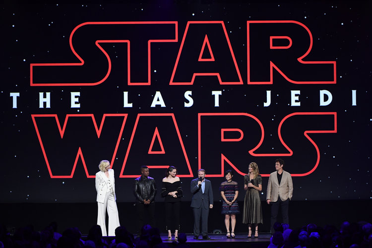 Cast Of Star Wars The Last Jedi Attends #D23Expo
