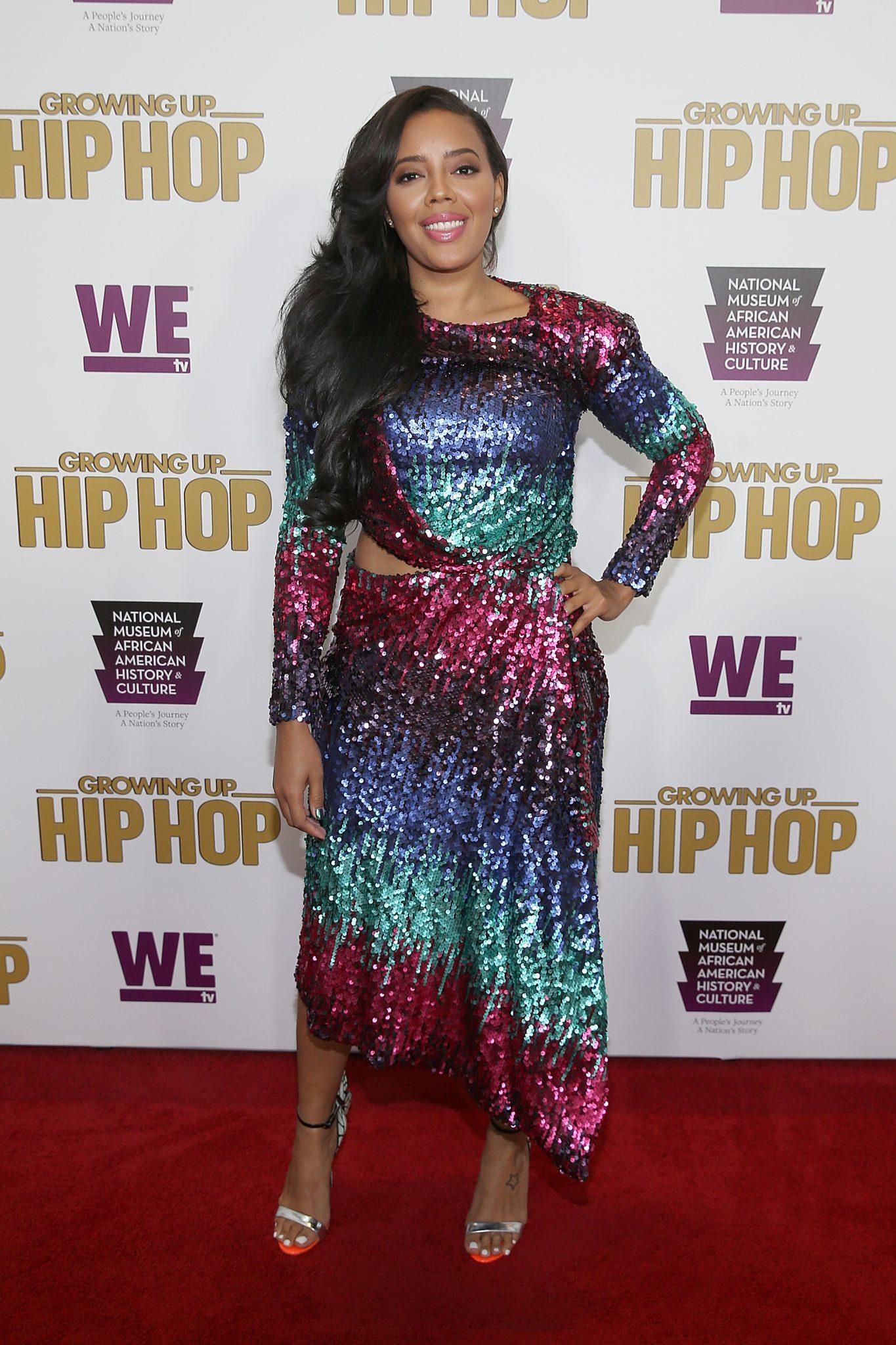 Wardrobe Breakdown: Angela Simmons At Growing Up Hip Hop Premiere