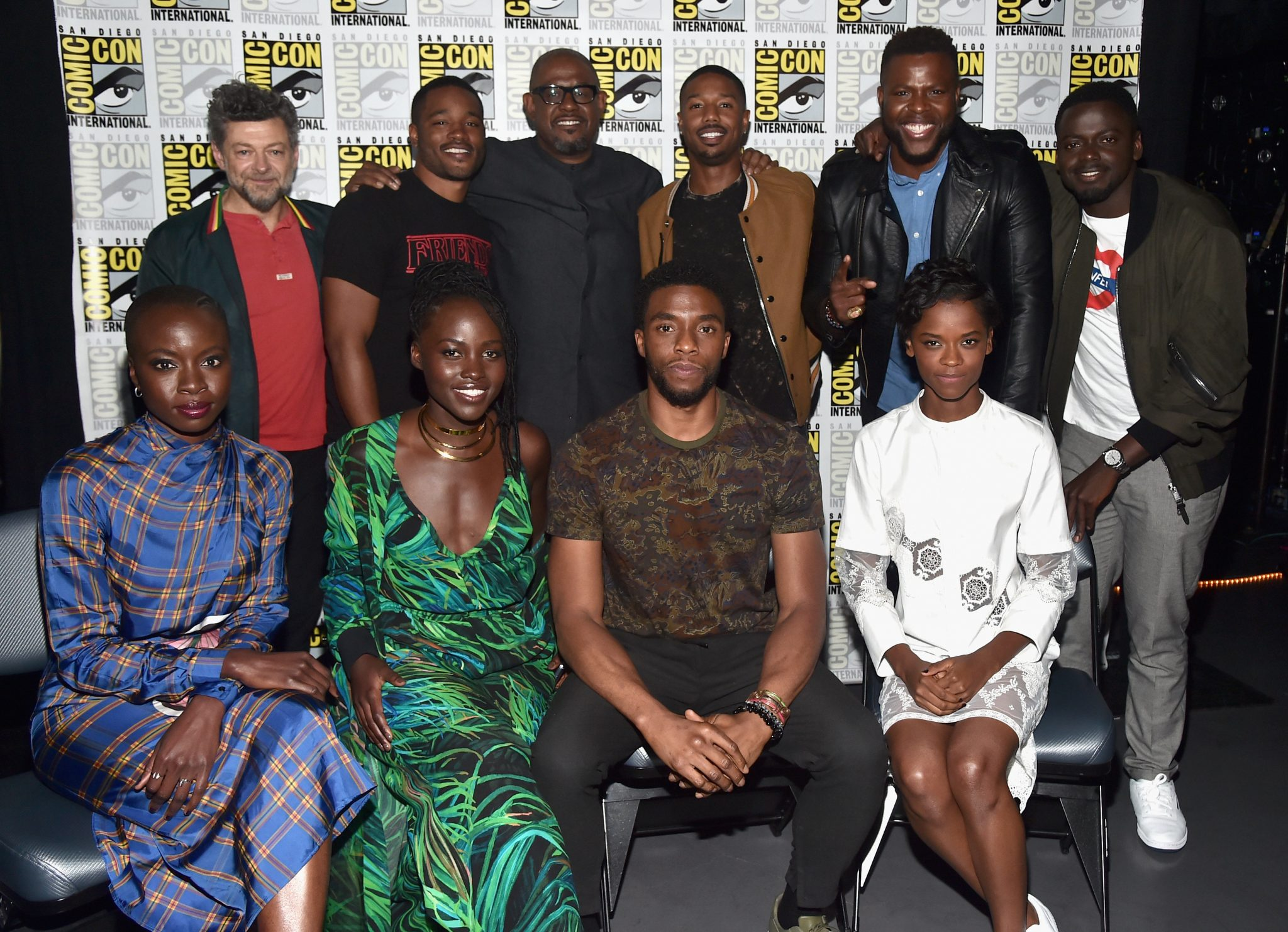The Cast Of Black Panther Invade Comic Con