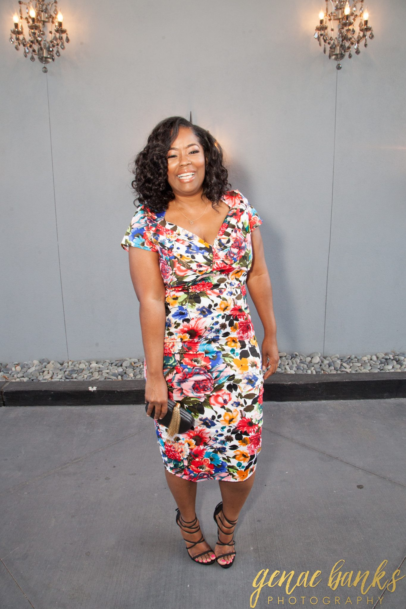 My Style: Blossoming Floral St Pierre Wiggle Dress