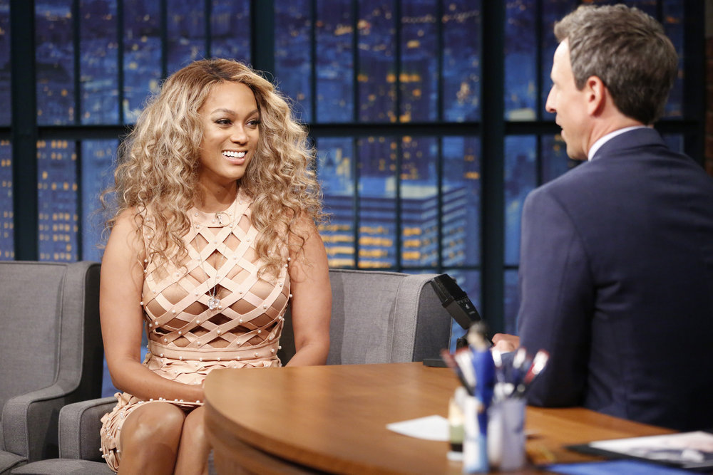 In Case You Missed It: Tyra Banks On Late Night With Seth Meyers