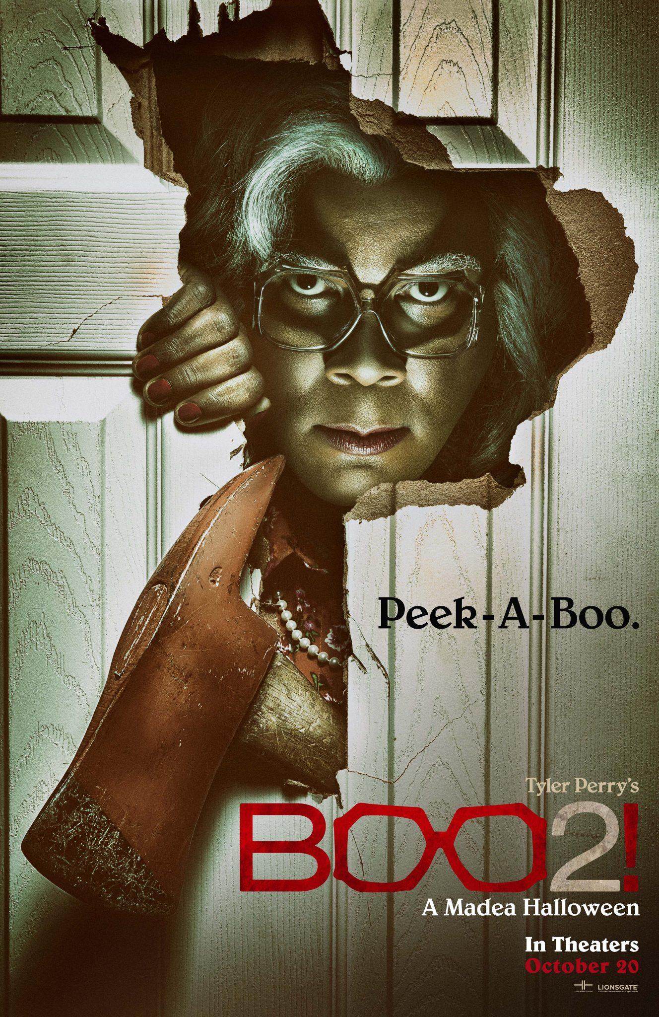 New Movie: Tyler Perry's Boo 2 A Madea Halloween