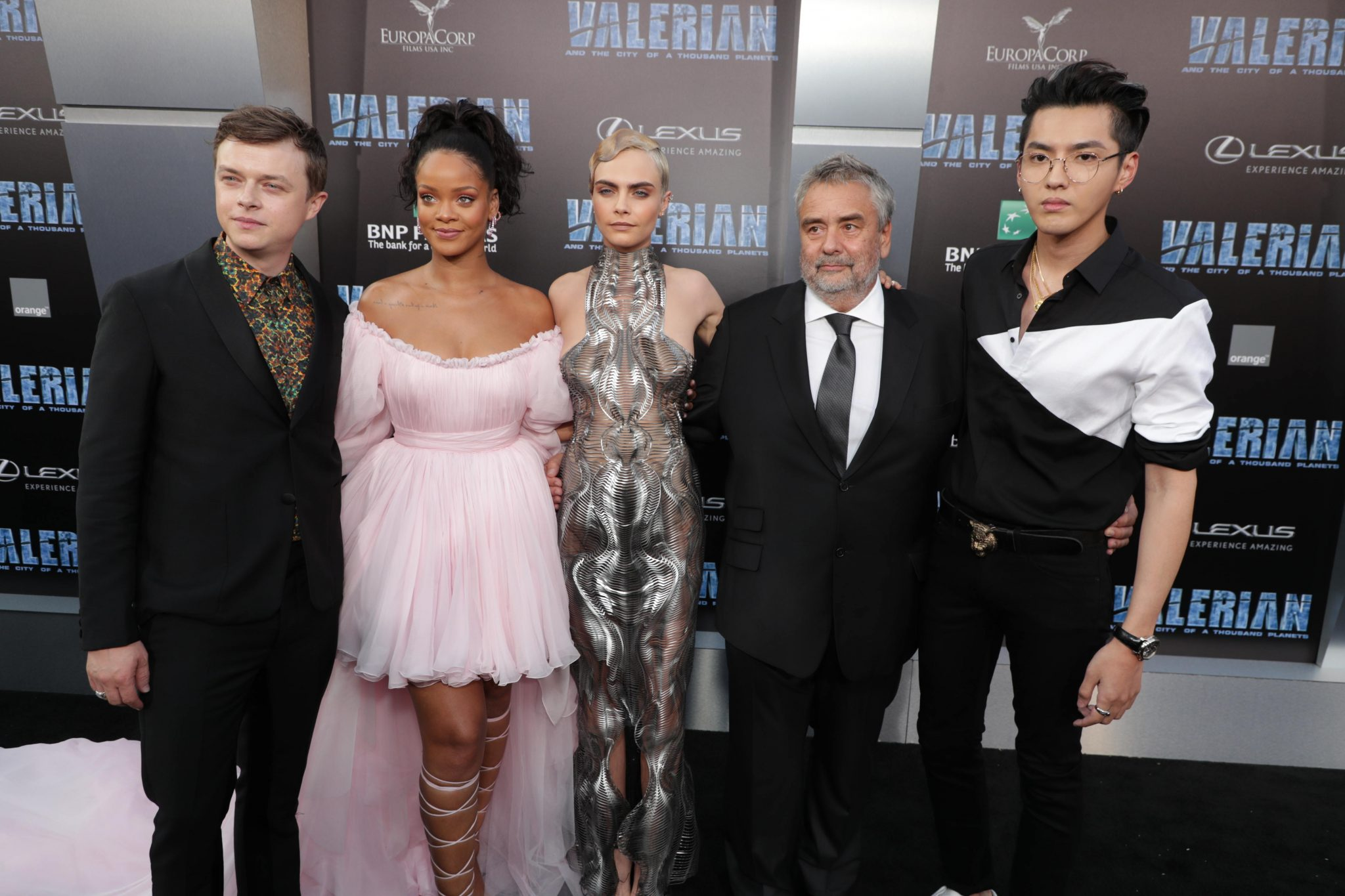 Valerian And the City Of A Thousand Planets World Premiere